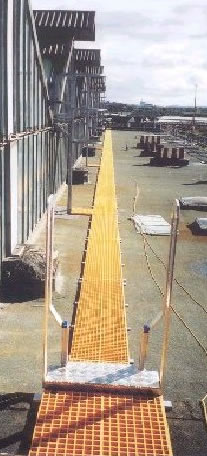 Glassfibre Walkways