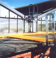 Glassfibre Walkways for Roof Access