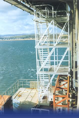 Heavy Duty Tower for bridge access at the Forth Road Bridge, Scotland