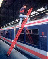 Pantograph Access Ladder
